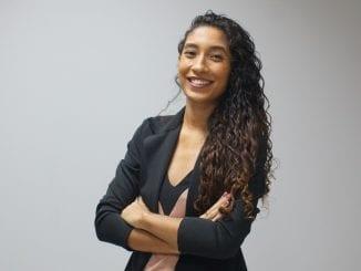 Bruna Calazans foi selecionada entre milhares de jovens para participar do programa da UNICEF